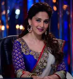 Madhuri Dixit in Saree.