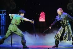 Lee as Robin Hood in sword fight with Nigel Havers as Sheriff of Nottingham