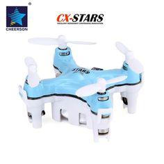 Cheerson CX-STARS 2.4G 4CH 6 Axis Gyro 3D Flip MINI RC Quadcopter - Blue