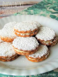 Polish Desserts, Polish Recipes, Baking Recipes, Cake Recipes, Dessert Recipes, Pineapple Coconut Bread, First Communion Cakes, Christmas Baking, Sugar Cookies
