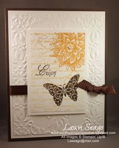 10/5/2011; Lauri Seago at 'A Stamper's Perspective' blog; Creative Elements stamp set + other SU products