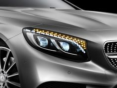 The 2015 Mercedes-Benz S-Class Coupe Has 47 Crystals For Headlights