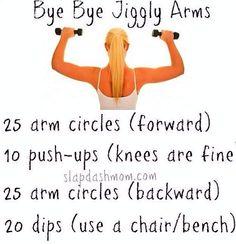 Buh-Bye Jiggly Arms