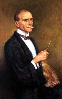 Australian painter Rupert Bunny Self Portrait