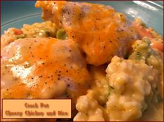 Cheesy Chicken and Rice Casserole http://www.momspantrykitchen.com/cheesy-chicken-and-rice-casserole.html