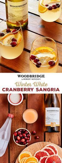 Wine lovers, checkout this Winter Wine Cranberry Sangria recipe that's perfect for a cozy day. #drinkwinethinkzline #winewednesday