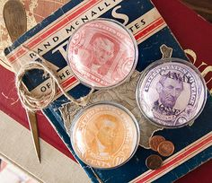 Presidential Paperweights (How-to) #presidentsday #paperweights #diy