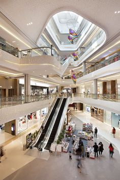 First Large-Scale Integrated Retail and Lifestyle Complex for Kunshan Commercial Complex, Commercial Center, Shopping Mall Interior, Retail Interior, Mall Design, Retail Design, Modern Buildings, Beautiful Buildings, Video Vlog