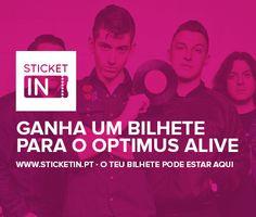 www.sticketin.pt - Ganha um bilhete para o dia 10 -  OPTIMUS ALIVE R U MIIIINE ?