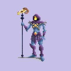 Inspiração - Pixel Art Characters por Daniel Silva Visite Artedrops.com para mais inspiração!