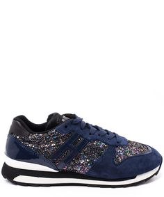 Hogan Rebel Blue Suede Tweed Running Trainers Running Trainers, Blue Suede, Rebel, Tweed, Liberty, Adidas Sneakers, Women Wear, London, Luxury