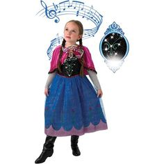 Baby Disney Characters, Disney Films, Fancy Dress, Light Up, Harajuku, Musicals, Anna, Costumes, Frost