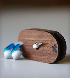 Walnut Earbud Coil