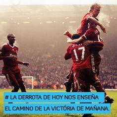 La derrota de hoy nos enseña el camino de la victoria mañana http://www.altorendimiento.com/cursos/curso-preparacion-fisica-futbol