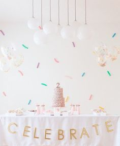 There's no way you'll walk away without a sweet tooth after this one, just warning ya now. Tessa of Starling Studio went with a colorful confetti theme for her twin girls' birthdays since they tak More from my site Confetti twin girls birthday party 2nd Birthday Party For Girl, Donut Birthday Parties, Birthday Party Themes, Cake Birthday, Birthday Ideas, Twin Birthday, Festa Party, Party Party, Shower Party