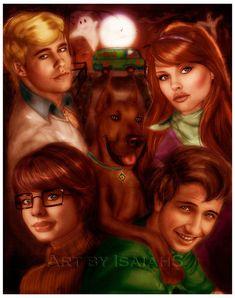 Scooby-Doo by =IsaiahStephens on deviantART