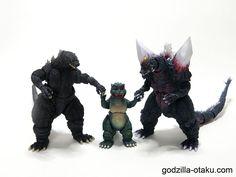 Parents (Godzilla 1995 Birth Version, Little Godzilla, and Space Godzilla)