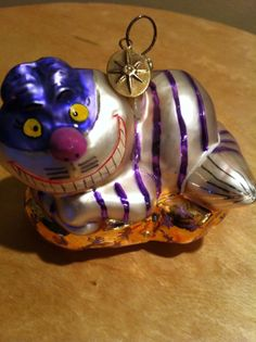 Cheshire Cat Christopher Radko Christmas Ornament (Disney)
