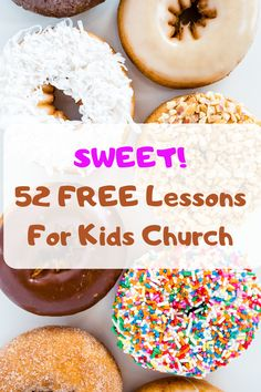 Download 52 fun and FREE Kids Church Lessons to use in your Sunday School or Children's Ministry. Kids Church Games, Kids Church Lessons, Bible Lessons For Kids, Bible For Kids, Church Activities, Youth Activities, Christmas Sunday School Lessons, Free Sunday School Lessons, Cooking In The Classroom