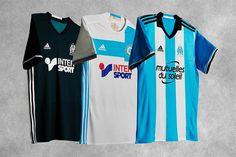 Camisas do Olympique de Marseille 2016-2017 Adidas