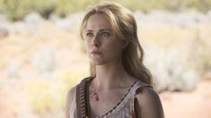 """Evan Rachel Wood as Dolores on the """"Westworld"""" season two finale Westworld Hbo, Dolores Westworld, Westworld Season 3, Evan Rachel Wood, Rodrigo Santoro, John Oliver, Big Bang Theory, Call Of Duty, South Park"""