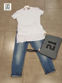 OUTFIT | Jeans pirata + T-Shirt