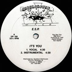 E.S.P. - It's You (Vinyl) at Discogs