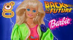 Regreso al Futuro homenaje Barbie años 80 - Juguetes Barbie toys - Back to the future