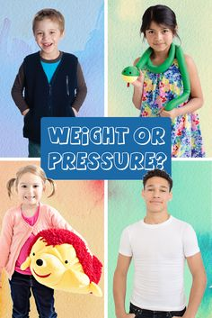 Weight or Pressure? How to choose appropriate sensory input for kids with special needs | Autism | SPD |ADHD