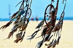 dream catcher flowing in the wind,taken At Venice Beach ,California ,strip