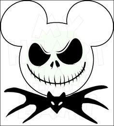 Jack Skellington Mickey Mouse head ears Digital by DigitalWishes Disney Diy, Disney Crafts, Disney Trips, Disney Cruise, Disney Travel, Mickey Mouse Dress, Mickey Mouse Head, Mouse Ears, Disney Halloween