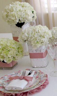 Aprenda a fazer 4 pequenos, lindos e rápidos arranjos florais. Blog Achados de Decoração  Adorei !!!