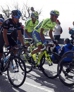 #AlbertoContador #Tinkoff in the peloton at #Algarve!