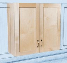 How To DIY Build Your Own White Country Kitchen Cabinets White - Building kitchen cabinets