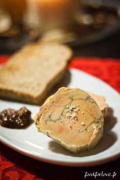 Photo Foie Gras aux Epices de Noël et Vieil Armagnac, Cuit au Torchon au Thermomix