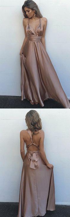 prom dresses, fashion dresses, simple backless prom party dresses, cheap blush long prom dresses