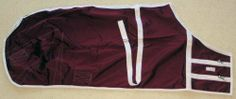 Draft Horse Nylon Sheet - 95 inches by Lakestreet Enterprises. $112.99. Nylon sheet for draft horses. Sheet has two snap closures in from and a belly strap. The draft horse sheet has leg bands as well. The sheet is made of heavy rip stop nylon.  Burgundy with white trim, size 95 inches.