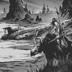 On a Lost World by Stephen Fabian