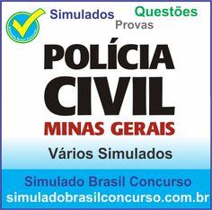 Concurso da Policia Civil-MG 2014.  Novos Simulados e Questões da PC-MG 2014.  http://simuladobrasilconcurso.com.br/simulados/concursos/?filtro_concurso=1538  #SimuladoBrasilConcurso, #ProvaPoliciaCivilMg