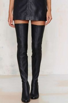 Jeffrey Campbell Perouze Thigh High Boot - Shoes | Knee High