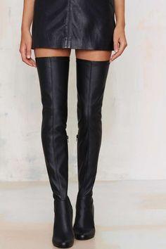 Jeffrey Campbell Thigh High Boots//