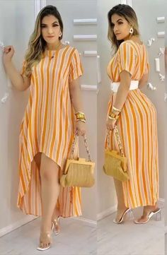 African Wear Dresses, Latest African Fashion Dresses, Women's Fashion Dresses, Stylish Work Outfits, Chic Outfits, Stylish Tops, Casual Dresses Plus Size, Lace Dress Styles, Girls Fashion Clothes
