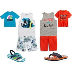 Surf Stud toddler boy outfits