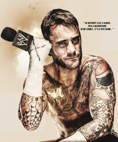 My future husband! Best Wrestlers, Cm Punk, Wwe Superstars, Secret Obsession, To My Future Husband, Bad Boys, Role Models, Wrestling, Pinterest Board