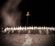 "A Very Sad Time in History.....June 28, 1922. Washington, D.C., or vicinity. ""Ku Klux Klan meeting."" 8x10 inch glass negative, National Photo Company Collection."