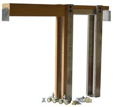 NOW AVAILABLE- ( ) Height -Pocket Door Frame Kits Available in all widths. No need to cut down other Pocket Door Frame Kits Check out our 2450 Series with this new standard height for those High Doors