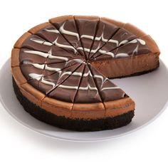Latest Fashion Trends: Triple Chocolate Cheesecake - 9 Inch