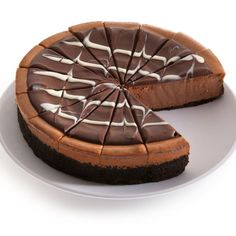 Latest Fashion Trends: Triple Chocolate Cheesecake - 9 Inch