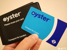 My Oyster card makes me feel like a London local 😉