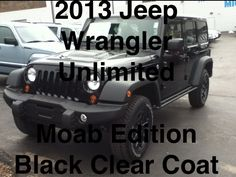 http://m.youtube.com/watch?feature=plpp=Xud8VRtj1JU  2013 Jeep Wrangler Unlimited Moab Edition!  Call 412-695-3929 or 724-288-4791.